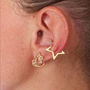🆕 Handmade Gold Star 🌟 Ear Cuff